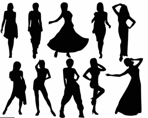 Woman Silhouette: a surprising claim to fame